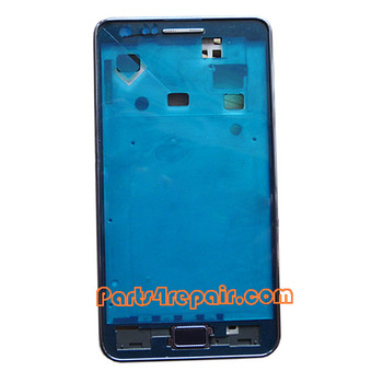 Front Housing Cover for Samsung I9105 Galaxy S II Plus -Black from www.parts4repair.com