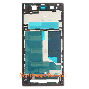 We can offer Front Housing Cover for Sony Xperia Z1 L39H -Black