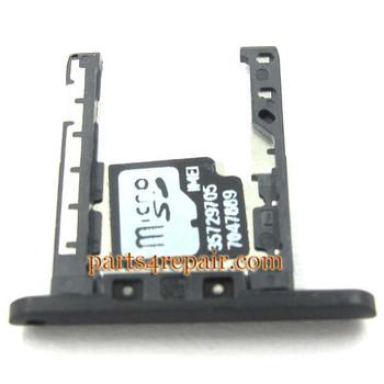 Micro SD Card Holder for Nokia Lumia 720 -Black
