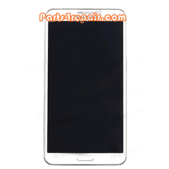 Complete Screen Assembly with Bezel for Samsung Galaxy Note 3 N900 -White