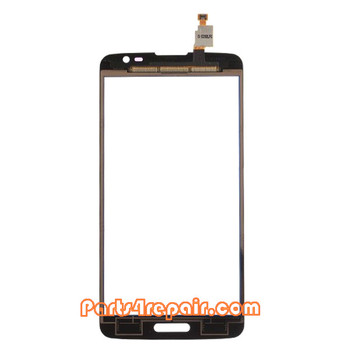 Complete Screen Assembly with Bezel & Battery for LG G Pro Lite D680 -Black