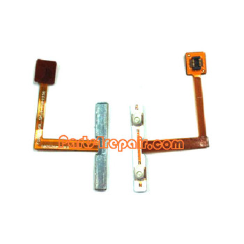 Volume Flex Cable for LG Optimus G E975 from www.parts4repair.com