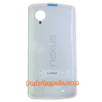Back Cover with NFC for LG Nexus 5 D821 -White