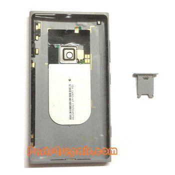 We can offer Back Housing Assembly Cover with NFC for Nokia Lumia 920 -Grey