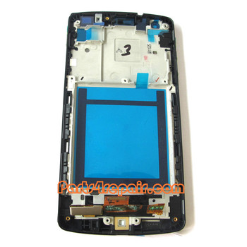 We can offer Complete Screen Assembly with Bezel for LG Nexus 5 D820