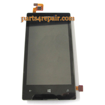 Complete Screen Assembly with Bezel for Nokia Lumia 520
