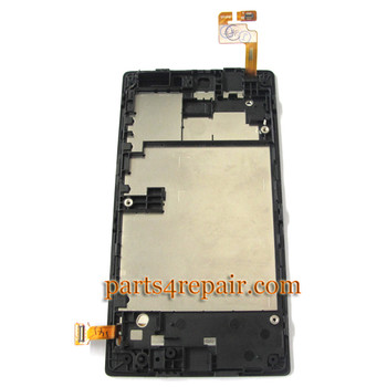 We can offer Complete Screen Assembly with Bezel for Nokia Lumia 520