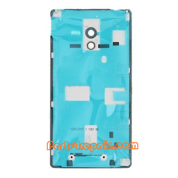 Back Cover for Sony Xperia ZL L35H -White