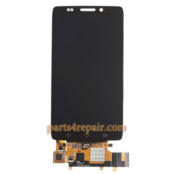 Complete Screen Assembly for Motorola Droid Ultra XT1080 from www.parts4repair.com