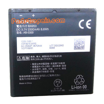 We can offer 2300mAh BA950 Battery for Sony Xperia ZR M36H