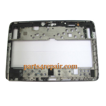 Front Bezel for Samsung Galaxy Note 10.1 N8000 N8010 -Grey
