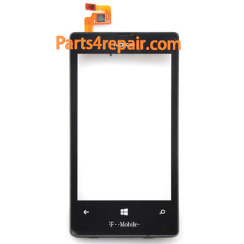 Touch Screen Digitizer with Bezel for Nokia Lumia 521 (T-Mobile Version) from www.parts4repair.com