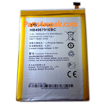 3900mAh Battery for Huawei Ascend Mate MT1-U06