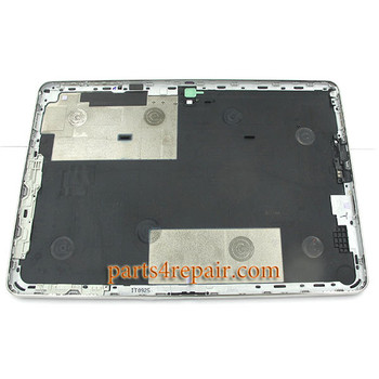 Back Cover for Samsung Galaxy Note 10.1 P600 (WIFI Version) -Black