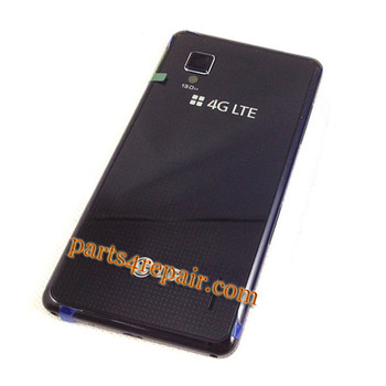 Back Cover for LG Optimus G F180 -Black