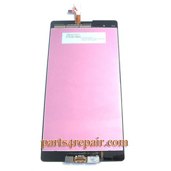 Complete Screen Assembly for Sony Xperia T2 Ultra xm50h -Black