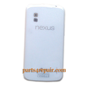Back Cover with NFC OEM for LG Nexus 4 E960 -White