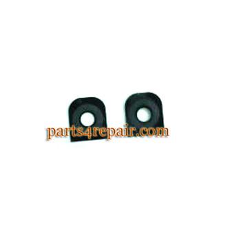 Camera Lens OEM for LG G2 -Black from www.parts4repair.com