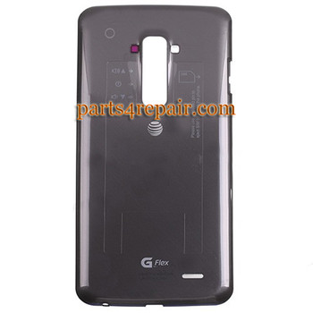 Back Cover for LG G Flex D950 (for AT&T) -Black