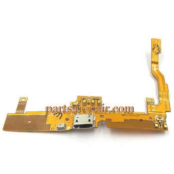 Dock Charging Flex Cable for LG G Pro Lite D680 from www.parts4repair.com