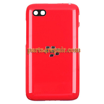 Back Cover for BlackBerry Q5 -Red