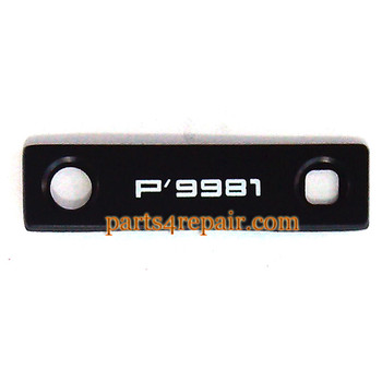 Camera Lens for BlackBerry Porsche Design P'9981 -Black from www.parts4repair.com