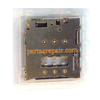 SIM Contact Connector for BlackBerry Z30 from www.parts4repair.com
