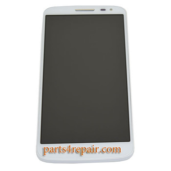 Complete Screen Assembly with Bezel for LG G2 mini -White