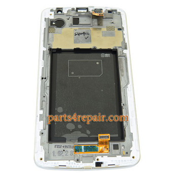 We can offer Complete Screen Assembly with Bezel for LG G Pro 2 D838 (for Asia) -White