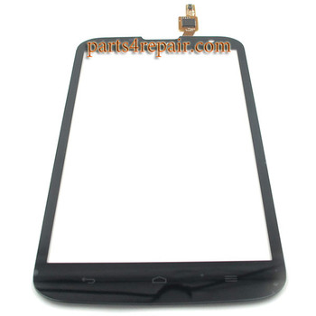 Touch Screen Digitizer for Huawei Ascend G730 -Black from www.parts4repair.com
