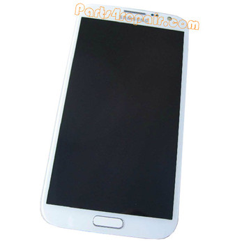 Complete Screen Assembly with Bezel for Samsung Galaxy Note II 4G N7105 -White from www.parts4repair.com