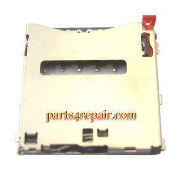 SIM Connector for Sony Xperia Z1 L39H from www.parts4repair.com