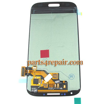 Complete Screen Assembly OEM for Samsung I9500 Galaxy S4 -Blue