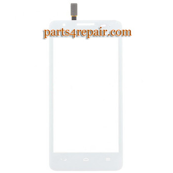 Touch Screen Digitizer for Huawei Ascend G525 -White from www.parts4repair.com