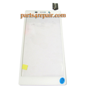 Touch Screen Digitizer for Sony Xperia M2 -White from www.parts4repair.com