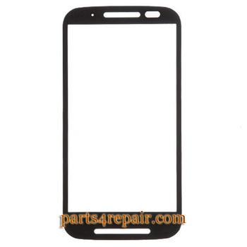 We can offer Front Glass for Motorola Moto E XT1021 -Black