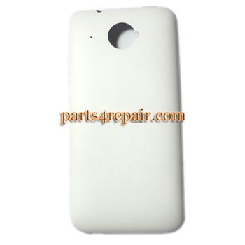 Back Cover for HTC Desire 601 Zara -White