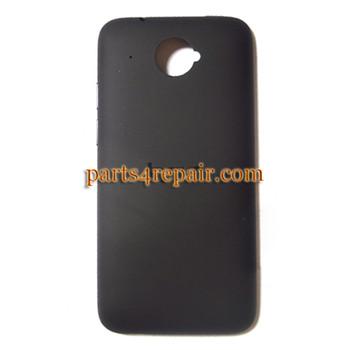 Back Cover for HTC Desire 601 Zara -Black