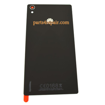 Back Cover for Huawei Ascend P7 -Black