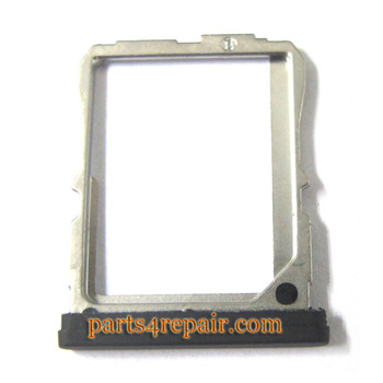 SIM Tray for LG Nexus 5 D820 -Black from www.parts4repair.com