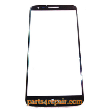 Front Glass for LG G2 -Black from www.parts4repair.com