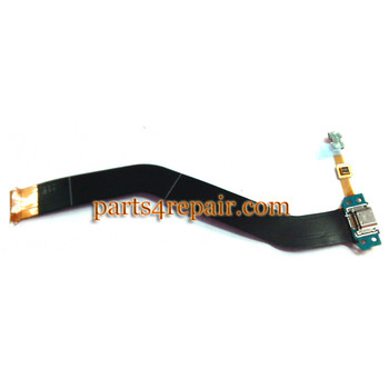Dock Charging Flex Cable for Samsung Galaxy Tab 4 10.1 T530 T531 T535 from www.parts4repair.com