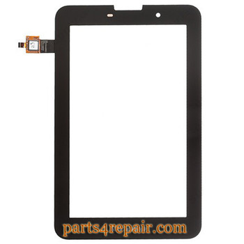 Touch Screen Digitizer for Lenovo Idea Tab A3000 -Black from www.parts4repair.com
