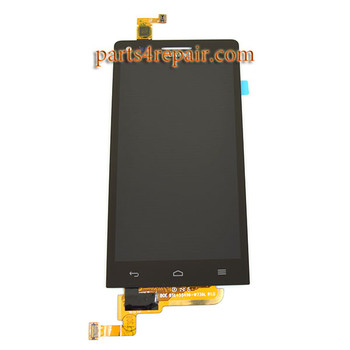 Complete Screen Assembly for Huawei Ascend G6 -Black from www.parts4repair.com
