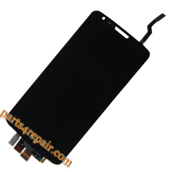 Complete Screen Assembly for LG G2 F320 F320S F320L(for Korea) -Black