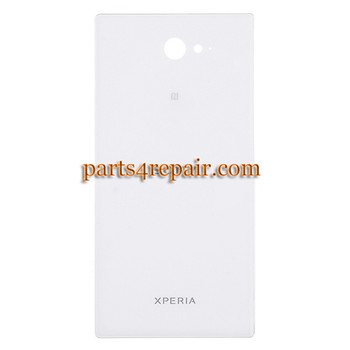 Back Cover for Sony Xperia M2 S50H -White