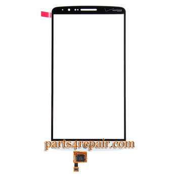 Touch Screen Digitizer for LG G3 VS985 -White (for Verizon) from www.parts4repair.com