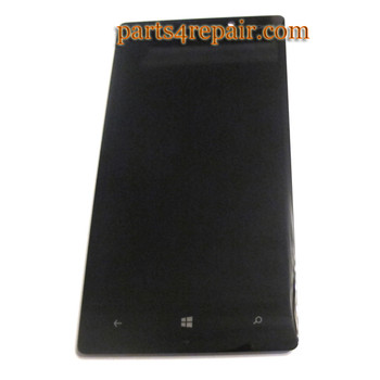 Complete Screen Assembly for Nokia Lumia 930 -Black