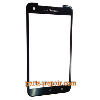 Front Glass OEM for HTC Droid DNA -Black