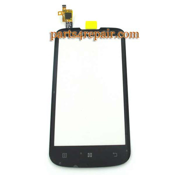Touch Screen Digitizer for Lenovo A800 -Black